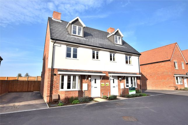 Thumbnail Semi-detached house for sale in Station Road, Felsted, Dunmow