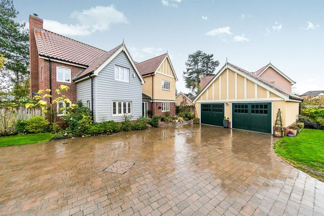 Thumbnail Detached house for sale in Beechwood Drive, Ipswich
