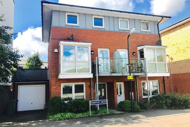 Thumbnail Town house for sale in Kempton Drive, Warwick