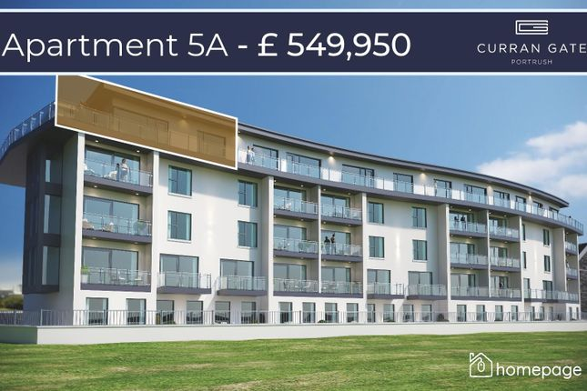 Thumbnail Property for sale in Penthouse 5A, Curran Gate, Portrush