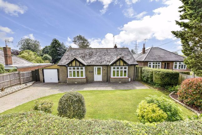Thumbnail Detached bungalow for sale in Kettering Road, Stanion, Northamptonshire