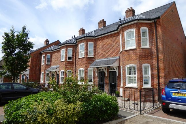 Thumbnail End terrace house to rent in Wetherall Mews, St.Albans