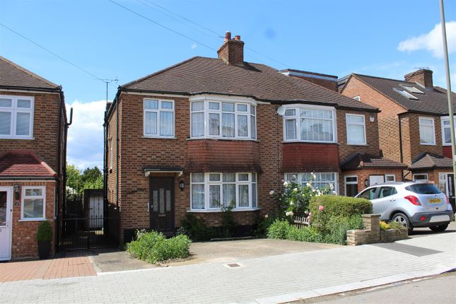 Thumbnail Semi-detached house for sale in Sherrards Way, Barnet
