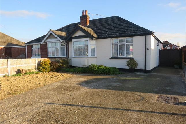 Thumbnail Semi-detached bungalow for sale in Morpeth Avenue, Totton, Southampton