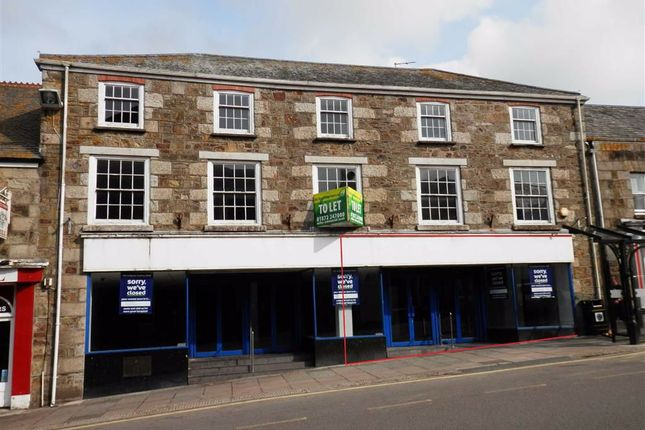 Thumbnail Retail premises to let in Part Ground Floor, 31-33, Coinagehall Street, Helston