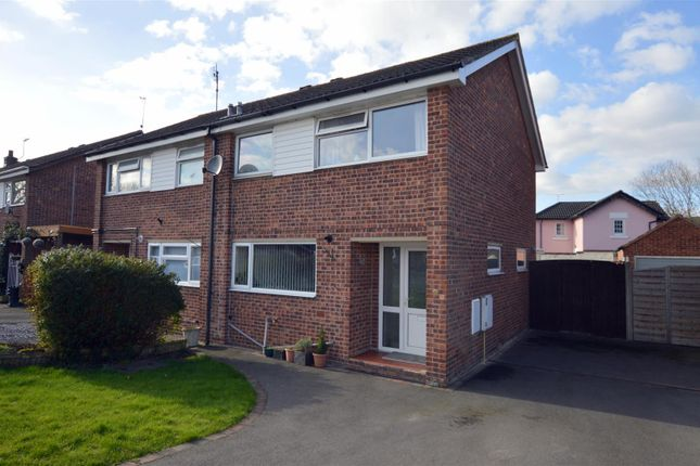 Thumbnail Semi-detached house for sale in Camp Wood Close, Little Eaton, Derby