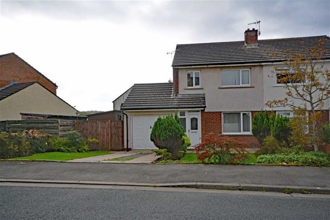 Thumbnail Semi-detached house for sale in Lowther Road, Millom, Cumbria