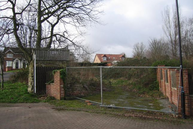 Thumbnail Land for sale in Rodwell Close, Treeton, Rotherham