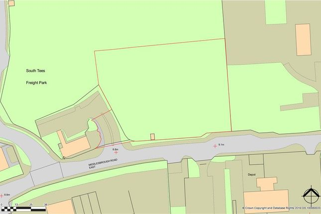 Thumbnail Land for sale in Land At Middlesbrough Road East, South Bank, Middlesbrough