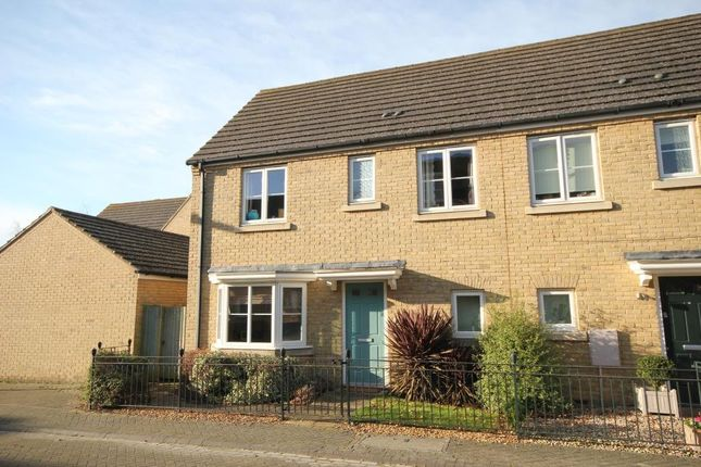 Thumbnail End terrace house for sale in Chelmer Way, Ely