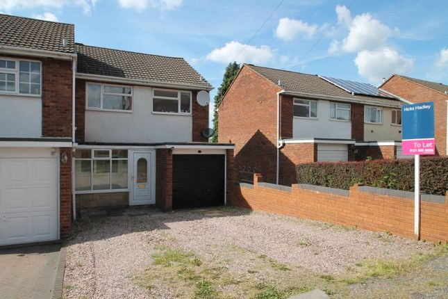 3 bed semi-detached house to rent in Foredraft Street, Colley Gate, Halesowen, West Midlands