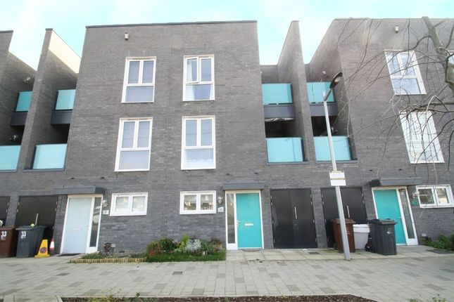 Thumbnail Town house for sale in Minter Road, Barking, Essex