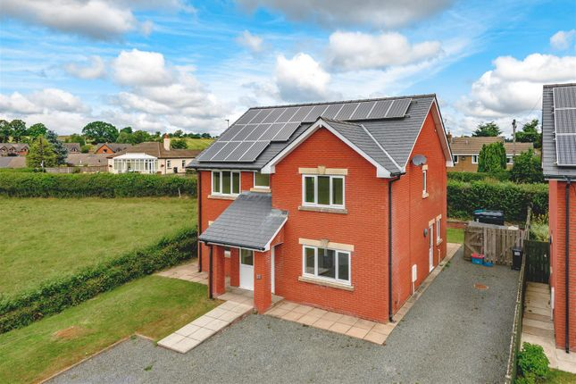 Thumbnail Detached house for sale in Llywelyn Close, Cilmery, Builth Wells