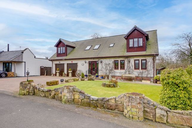 Thumbnail Detached house for sale in Lynrig, 4 Bankhead, Near Galston
