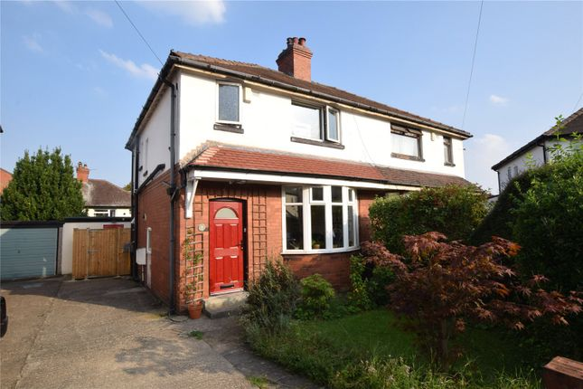 Thumbnail Semi-detached house for sale in Trenic Crescent, Leeds