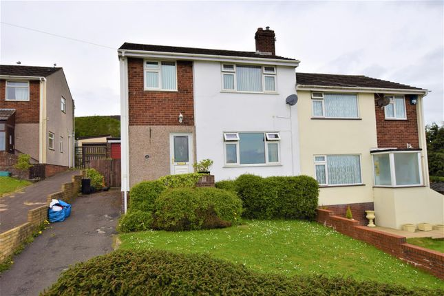 Thumbnail Semi-detached house for sale in Orchard Drive, Barry