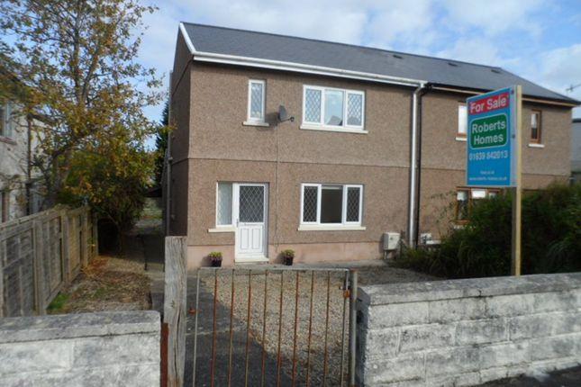 Thumbnail Semi-detached house for sale in Dolfain, Ystradgynlais, Swansea
