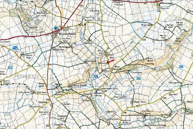 5.5 Acres Land Formerly Part Of, Waun, Rhydlewis, Llandysul, Ceredigion SA44