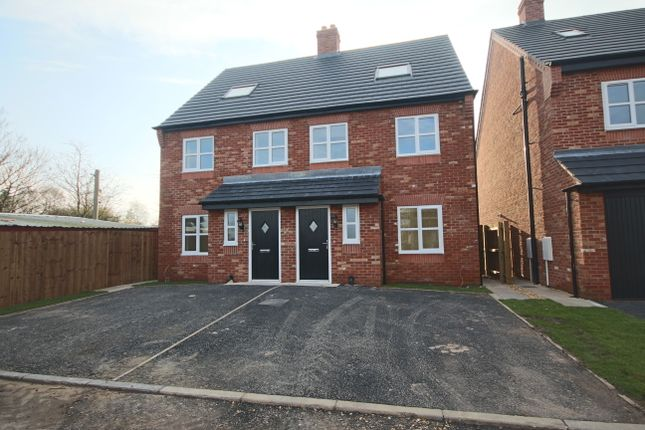 Thumbnail Town house to rent in Station Road, Croston, Leyland