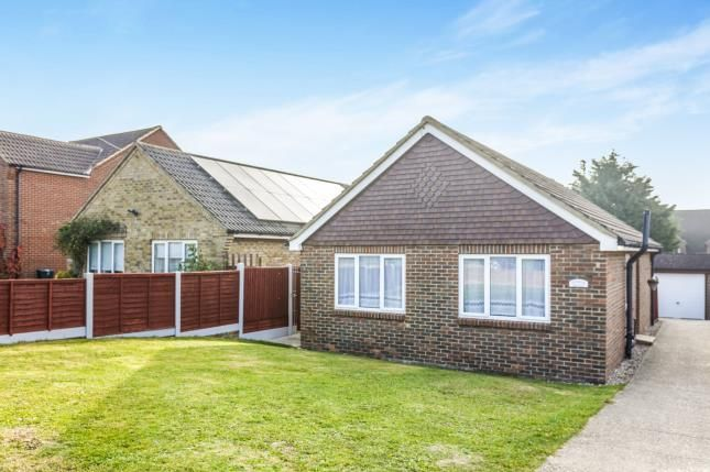 Thumbnail Bungalow for sale in Preston Hall Gardens, Warden, Sheerness, Kent
