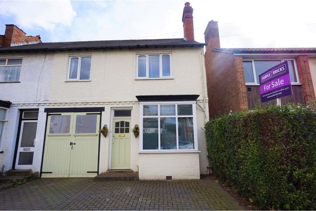 Thumbnail End terrace house for sale in Highbridge Road, Sutton Coldfield