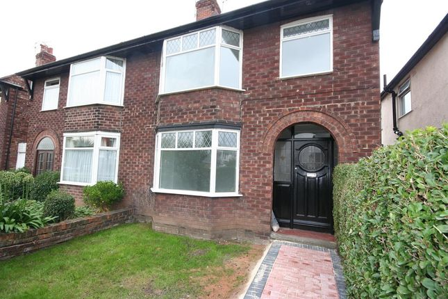 Thumbnail Semi-detached house for sale in Mill Lane, Wallasey