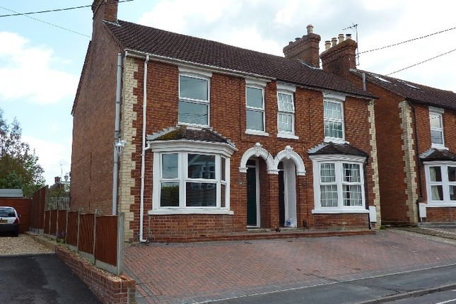 Thumbnail Semi-detached house to rent in Old Winton Road, Andover