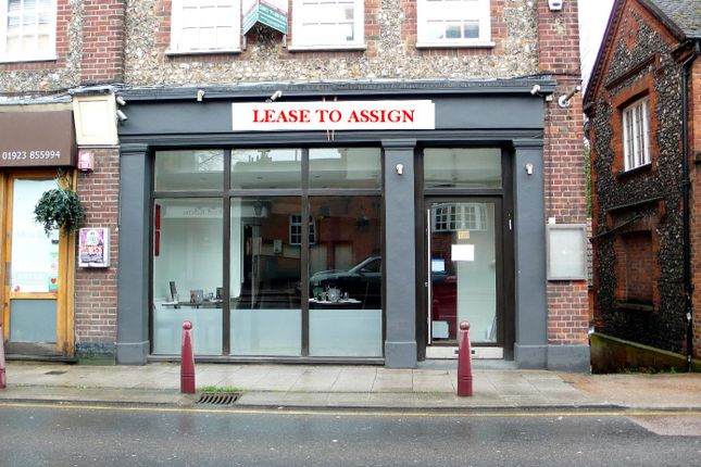 Thumbnail Restaurant/cafe to let in Watling Street, Radlett