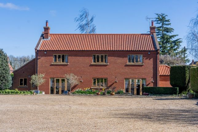 Thumbnail Detached house for sale in The Street, Bintree, Dereham