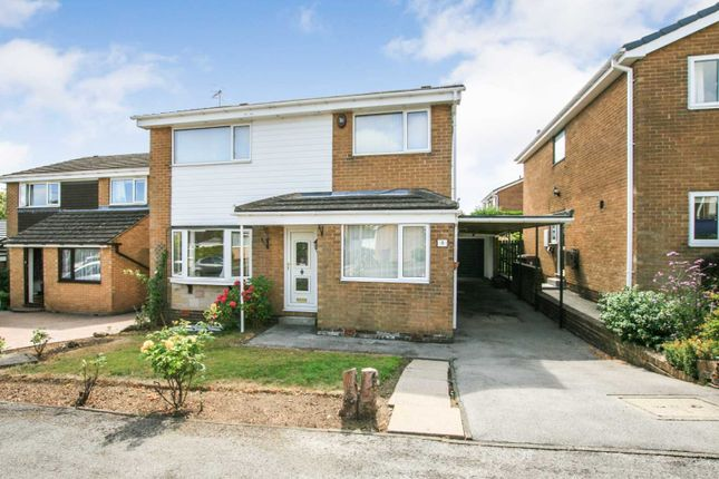 Thumbnail Detached house for sale in Ormesby Close, Dronfield Woodhouse, Derbyshire