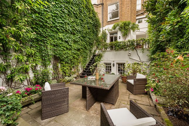 Private Garden of Stanhope Gardens, South Kensington, London SW7