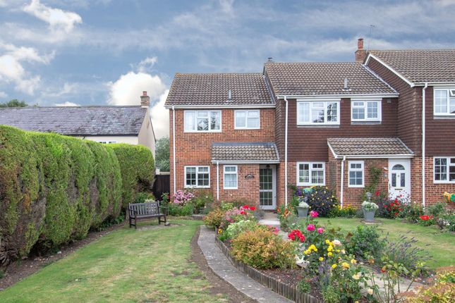 Thumbnail End terrace house for sale in The Meadows, Wingfield, Leighton Buzzard