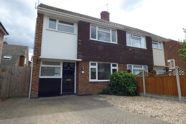 Thumbnail Semi-detached house to rent in Swanfield, Long Melford, Long Melford