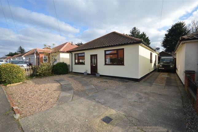 Thumbnail Detached bungalow for sale in Mountfield Avenue, Hellesdon, Norwich, Norfolk