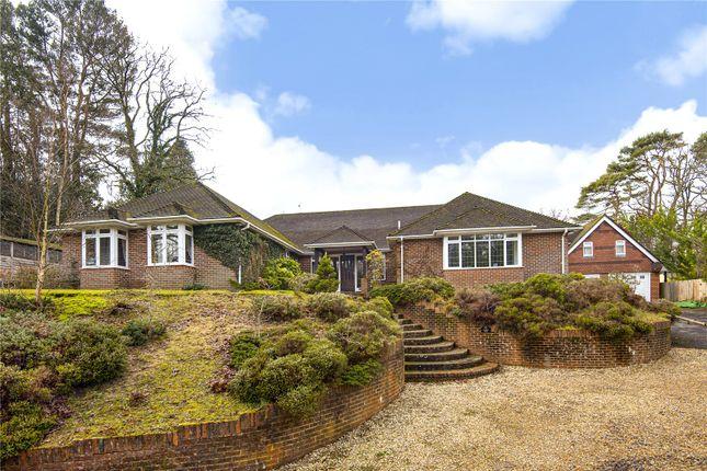 Thumbnail Detached house for sale in Frensham Road, Lower Bourne, Farnham