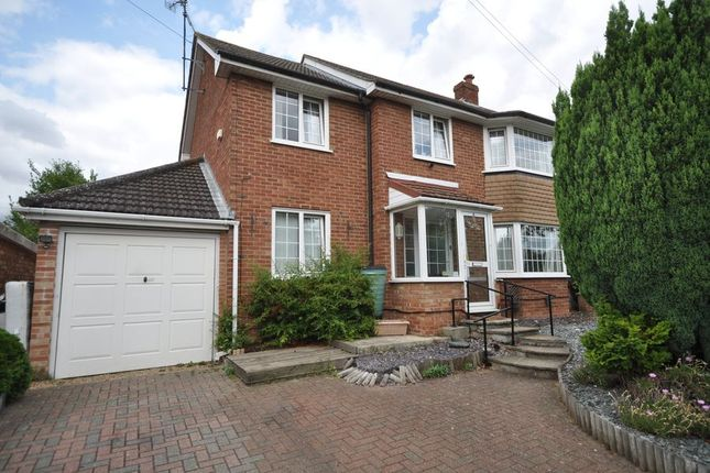 Thumbnail Semi-detached house to rent in Loggon Road, Basingstoke