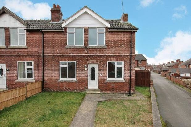 Thumbnail End terrace house to rent in West Street, Thurcroft, Rotherham