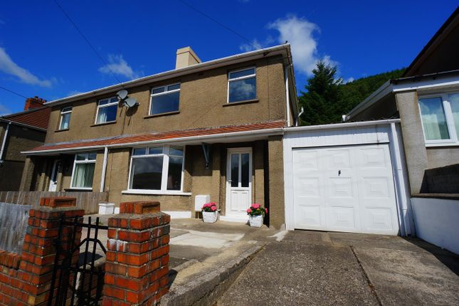 Thumbnail Semi-detached house for sale in Tribute Avenue, Cwmcarn, Newport