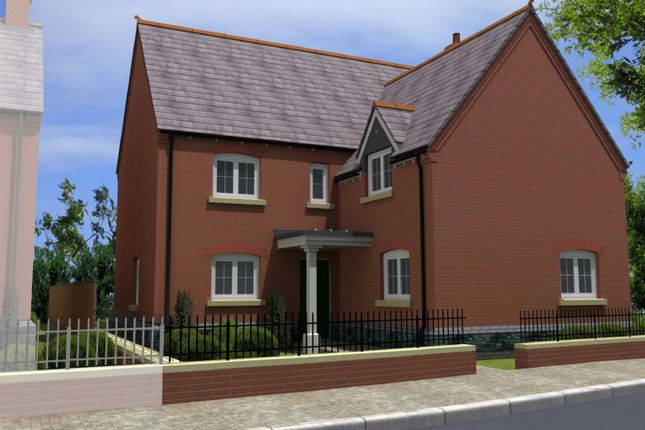 Thumbnail Detached house for sale in Off Hallam Fields Road, Birstall, Leicester