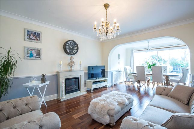 Thumbnail Semi-detached house for sale in Park View, Winchmore Hill, London