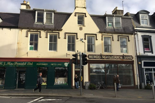 Thumbnail Retail premises for sale in 25-27 Cromwell Street, Stornoway