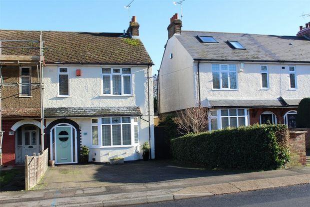 Thumbnail Semi-detached house for sale in Edwin Road, Rainham, Kent