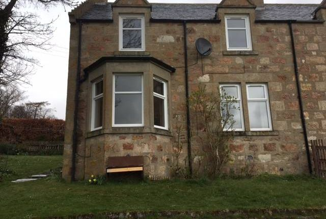3 bed semi-detached house to rent in Burnend Cottages, Dufftown, Banffshire AB55