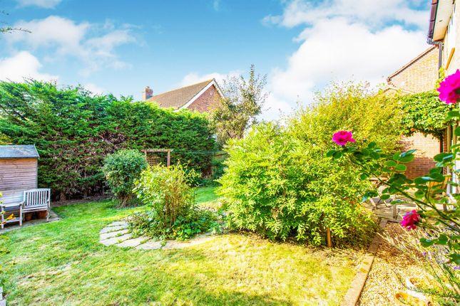 Rear Garden of Byfield Road, Papworth Everard, Cambridge CB23