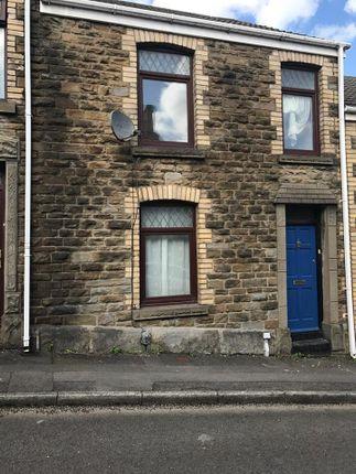 Thumbnail Terraced house to rent in Plesant Street, Morriston