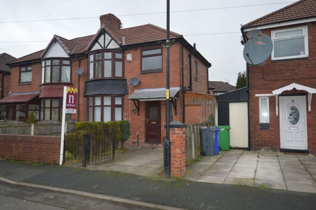 Thumbnail Semi-detached house to rent in Vaughan Avenue, Manchester