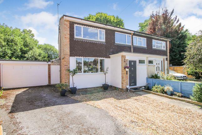 Thumbnail Semi-detached house for sale in Fleming Close, Farnborough