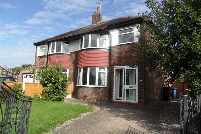 Thumbnail Property to rent in Alcester Avenue, Cheadle Heath, Stockport