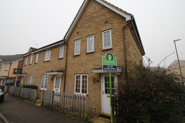 Thumbnail Terraced house to rent in Cleveland Way, Stevenage, Hertfordshire