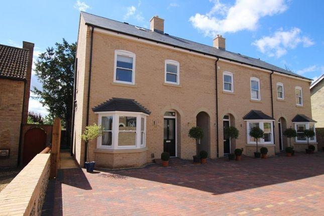 Thumbnail Town house for sale in White Hart Lane, Soham, Ely